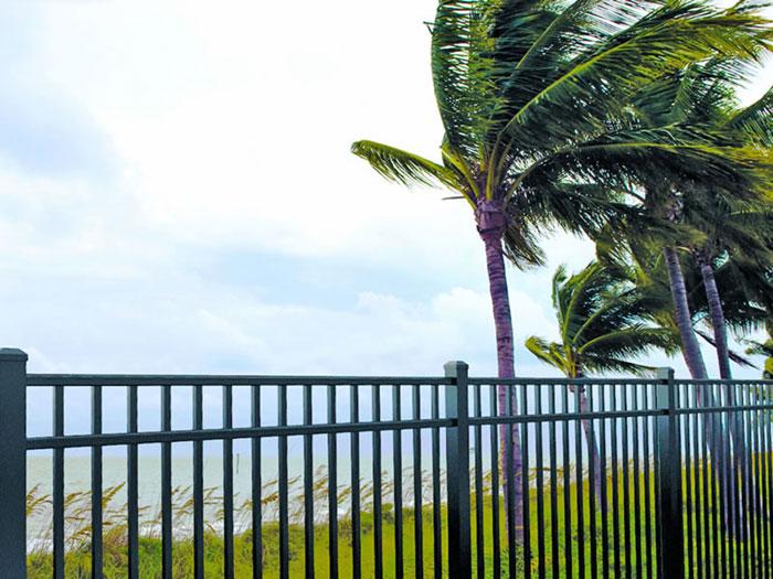 Industrial Aluminum fence